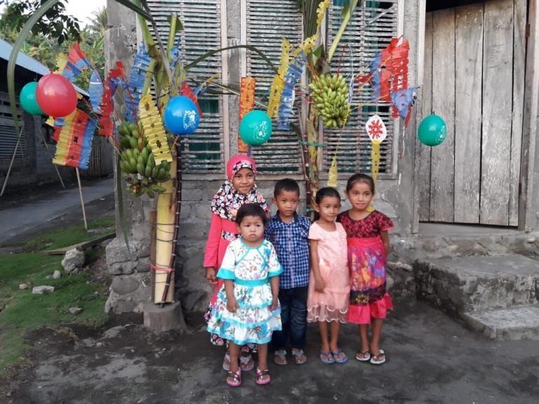 Pohon soan, tradisi penyemangat anak berpuasa di Maluku Utara - dok Fauji Yamin