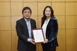 Qiang Lin Mei. (gambar Beijing Foreign Study University)