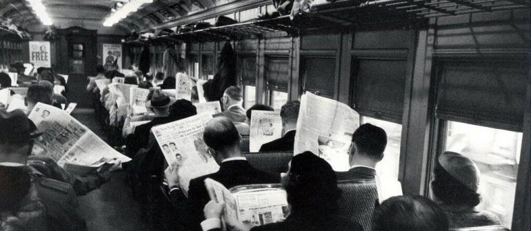 https://medium.com/@stinajonsson/ - Kelebihan informasi dan perilaku antisosial  - Foto tahun 50an