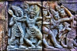 Relief Pada candi Prambanan sumber: jogjakita.co.id
