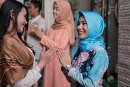 Ilustrasi menjaga silaturahmi pada Hari Raya Idul Fitri (kompas.com/shutterstock)