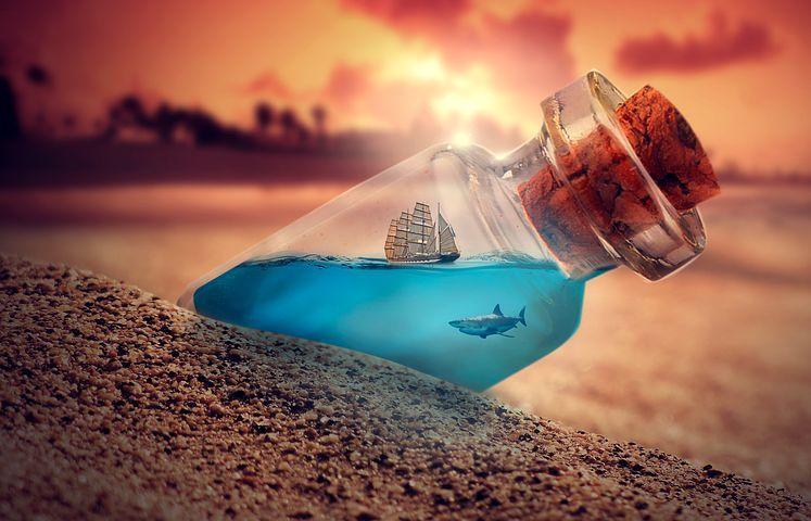 Air bertuah. (Sumber Ilustrasi: Pixabay)