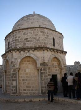 Kapela tempat Yesus Naik ke Surga (dok pri)