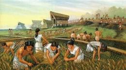 Ilustrasi Masyarakat Asia Tenggara Kuno. Sumber: seasia.co