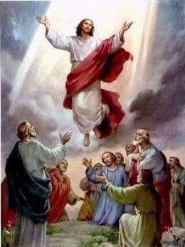 Gambar Yesus Naik ke Surga ( katolik.com )