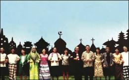 Merajut Nyata Tenun Kebhinnekaan/sumber: goodnewsfromimdonesia.id