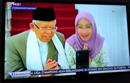 Dok pri. Momen silaturahmi Virtual Presiden dan Wakil Presiden