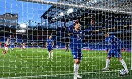 Chelsea gagal menang atas Arsenal. (via newsbeezer.com)