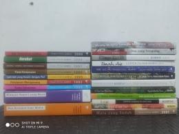 Sebagian koleksi buku kumpulan cerpen para pengarang besar, sumber: dokpri