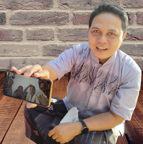 Silaturahmi secara virtual (Dok. Pribadi)