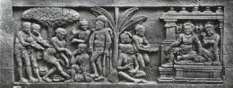 Relief Alat Musik di Candi Borobudur (Sumber: kebudayaan.kemdikbud.go.id/)