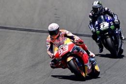 ilustrasi MotoGP (Kompas)