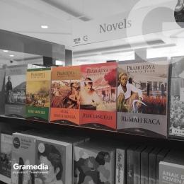 Buku-buku di Gramedia memang menarik - IG gramedia_jogjasudirman