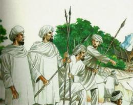 Pasukan Padri---Foto: http://budayominang.blogspot.com/2016/12/sejarah-singkat-perang-padri-1821-1837.html