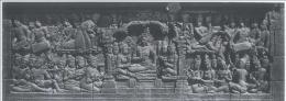 Relief alat musik di candi Borobudur (sumber : soundofborobudur.org)