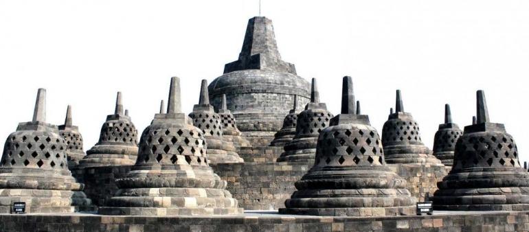 Kemegahan Candi Borobudur. Sumber: kebudayaan.kemdikbud.go.id
