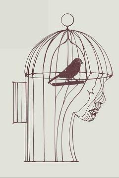 ilustrasi untuk Puisi: Burung di Dalam Sangkar. Gambar dari https://steller.co/cindymunandar