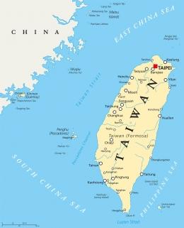 Selat Taiwan (dulu Selat Formosa) - businessmirror.com
