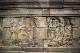 Relief musik pada candi Borobudur (dok. KJOG)