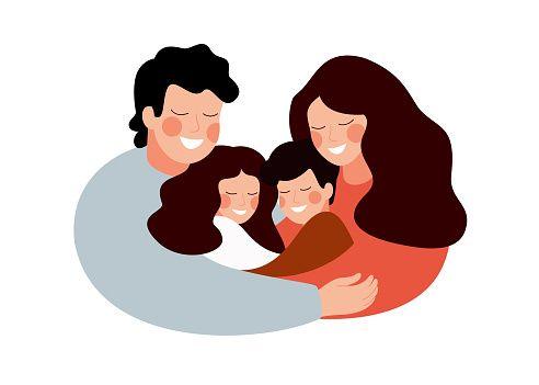 Ilustrasi orang tua dan anak - anak (sumber: istock/news.unair.ac.id)
