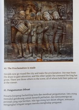 Relief 6 Panel 42 hal 47 buku Anandajoti Bhikkhu (Jataka)/ Foto: Koleksi pribadi