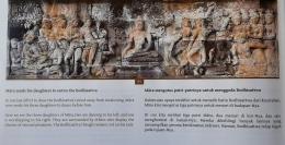 Relief 14 Panel 95 hal 112 buku Anandajoti Bhikkhu (Lalitavistara/Koleksi pribadi)