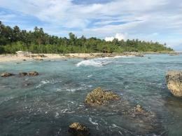 Kejernihan air dan deretan batu karang menjadi rumah nyaman biota laut/Dokpri