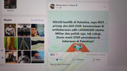 FB AS Hikam tentang Gus Dur
