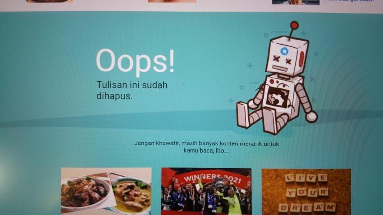 tampilan Kompasiana. com/tangkapan layar dokpri