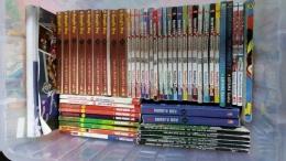 Salah Satu Container berisi Koleksi Buku Komikku termasuk Kungfuboy Premium, New, dan Legend (Dokumentasi Pribadi)