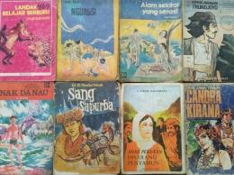 Sebagian buku cerita koleksi dari kakekku | Dokumentasi pribadi