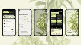 Desain Android 12 (androidauthority.com via kompas.com)