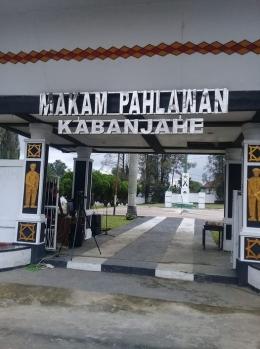 Gerbang Makam Pahlawan Kabanjahe (Dokpri)