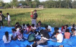 foto.dok.pribadi/literasi baca tulis di alam terbuka TBM KDK, Lidak, Atambua Selatan