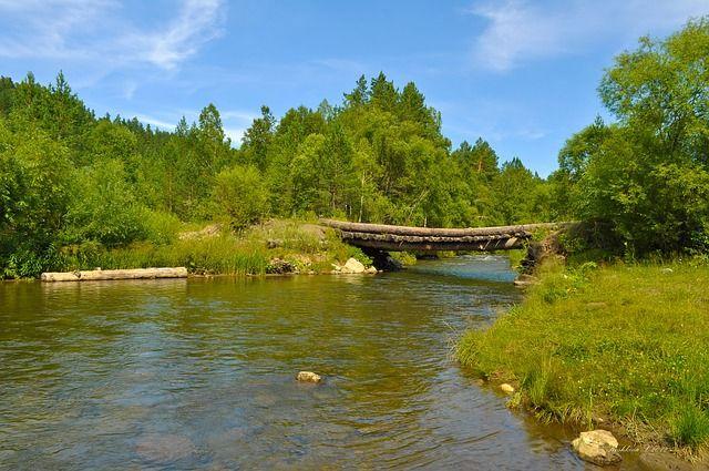Ilustrasi jembatan Kayu (sumber gambar: pixabay.com)