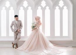 Ilustrasi pasangan yang setara (sumber weddingmarket.com)
