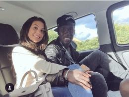 Ludivine Kadri dan Bacary Sagna | manchestereveningnews.co.uk