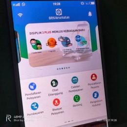 Ilustrasi aplikasi JKN Mobile I Dokpri