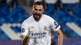 Karim Benzema, striker Real Madrid dipanggil untuk masuk skuad timnas Perancis di Piala Eropa mendatang. Sumber foto: getty images via Goal.com