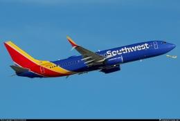 Southwest, LCC asal AS dengan warna dominan biru. Sumber: Howard Chaloner / planespotters.net