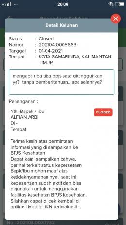 Hotline JKN Mobile selalu tanggapan keluhan pelayanan BPJS I Dokpri