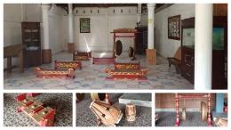 Gamelan Sunda di Kampung Wisata Cinangneng. (Foto : dokpri)