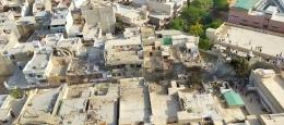 PIA PK-8303 jatuh di pemukiman padat penduduk Kota Karachi/istimewa