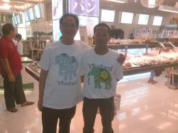 Di sebuah Mall bersama si Mas, hendak makan shabu-shabu, 25 September 2013. (Dok. Pribadi)