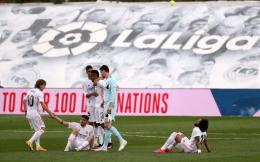 Real Madrid gagal menjadi kampiun Laliga 2020/2021. (via beinsports.com)
