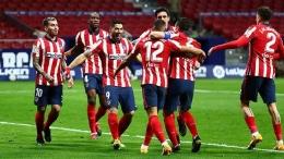 Atletico Madrid juara La Liga (tempo.co)