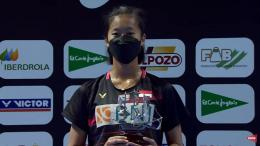 Tunggal Putri Indonesia , Putri Kusuma Wardani Yang Berhasil Meraih Gelar Juara . Sumber : BWF Official & Badmintalk