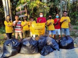 foto.dok.pribadi/Relawan Sampah Trash Hero Atambua