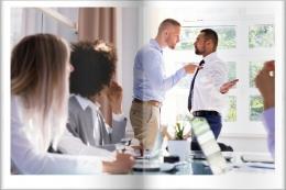 Hindarkan terlibat dalam konflik terbuka untuk keamanan anda (dok. Le Monde Marketing/ed.WS)