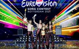 Maneskin berhahasil menjuarai Eurovision ke 65. Photo : PIROSCHKA VAN DE WOUW/REUTERS